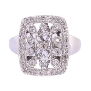 open work diamond ring