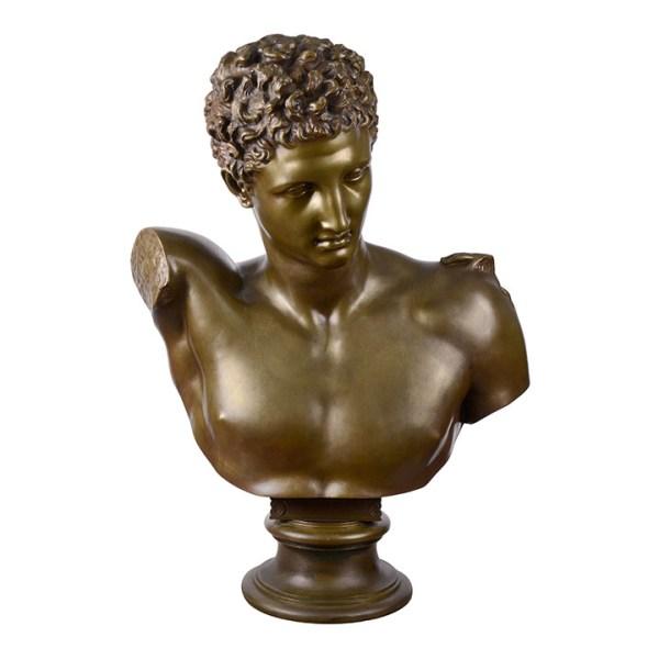 Hermes bronze sculpture