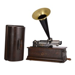 Edison Home Phonograph with Original Finish