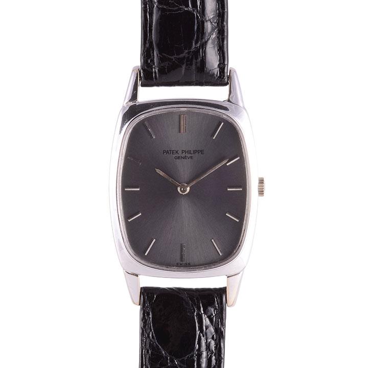 Patek Philippe 18K white gold wrist watch
