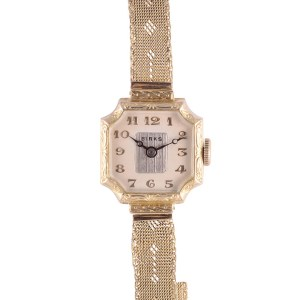 Art Deco 14K wrist watch