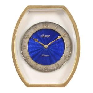 Enamel Travel Clock