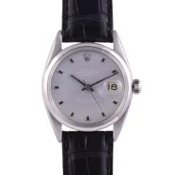 Rolex Air King Lavender Dial Wrist Watch