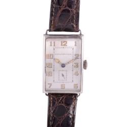 Longines for Black Starr & Frost Art Deco Wrist Watch