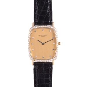 Patek Philippe diamond bezel wrist watch