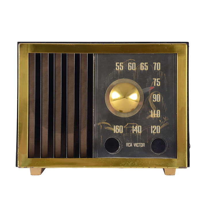 RCA Victor 75-X-17 Hand Painted Radio