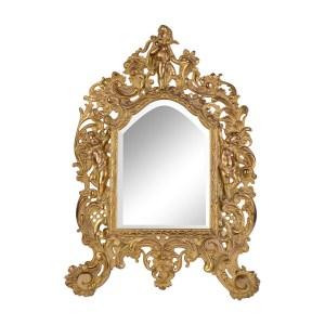 gilt vanity mirror