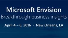 Microsoft Envision 2016