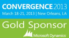 Microsoft dynamics convergence 2013