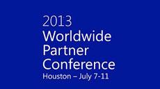 Worldwide partner conference 2013