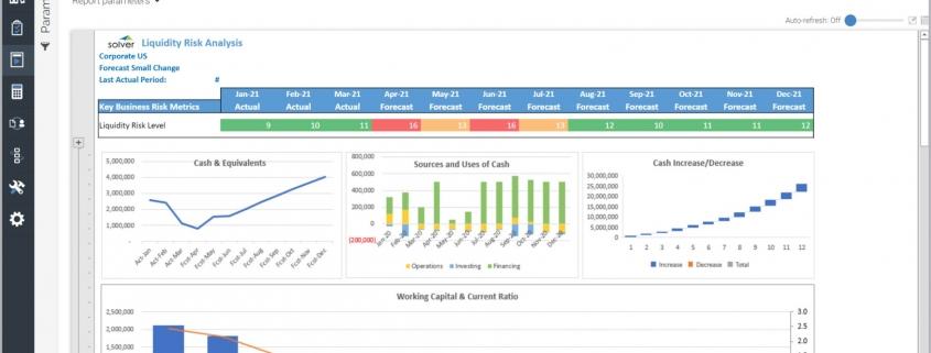 Liquidity Risk Analysis Forecast Report Example