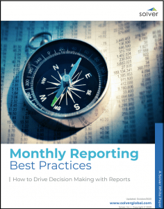 monthly reporting best practices