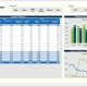 Example of a Plant Capacity Utilization Dashboard for a Manufacturing Company