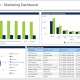 Example of a Marketing Dashboard for Insurance Companies