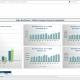 Example of a Revenue Comparison Dashboard for Media Companies