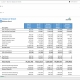 Example of a Balance Sheet Report for credit union branches