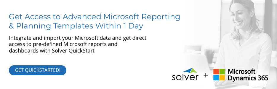 Advanced Microsoft Reporting and Planning Templates