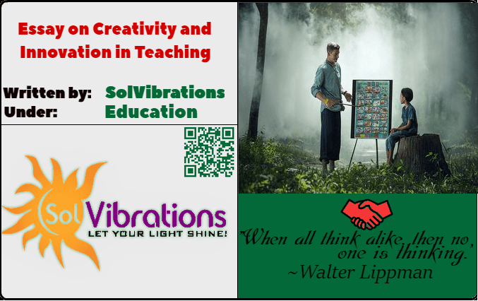 Essay on Creativity and Innovation in Teaching