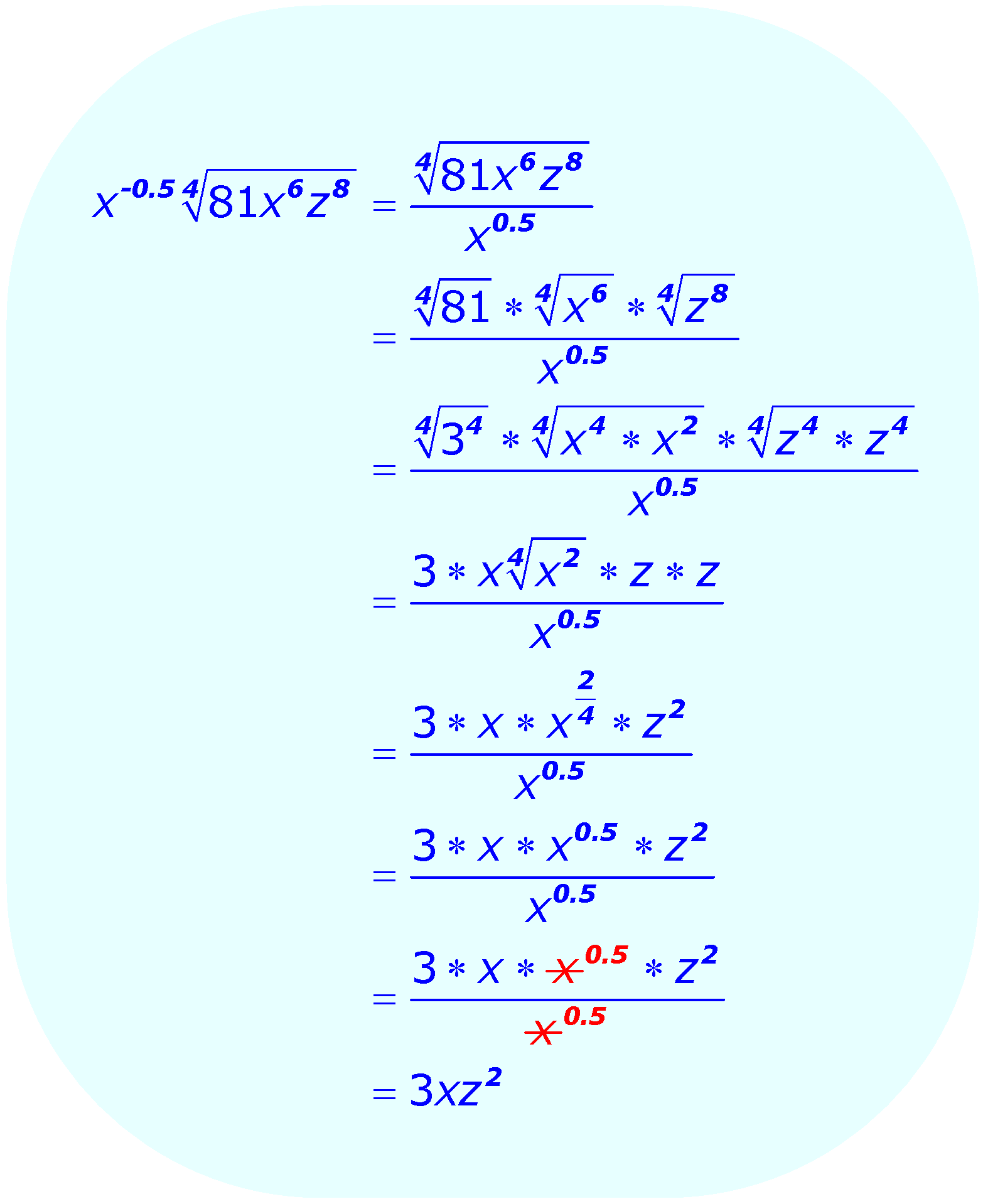 Solving Radical Equations With Fractions Calculator