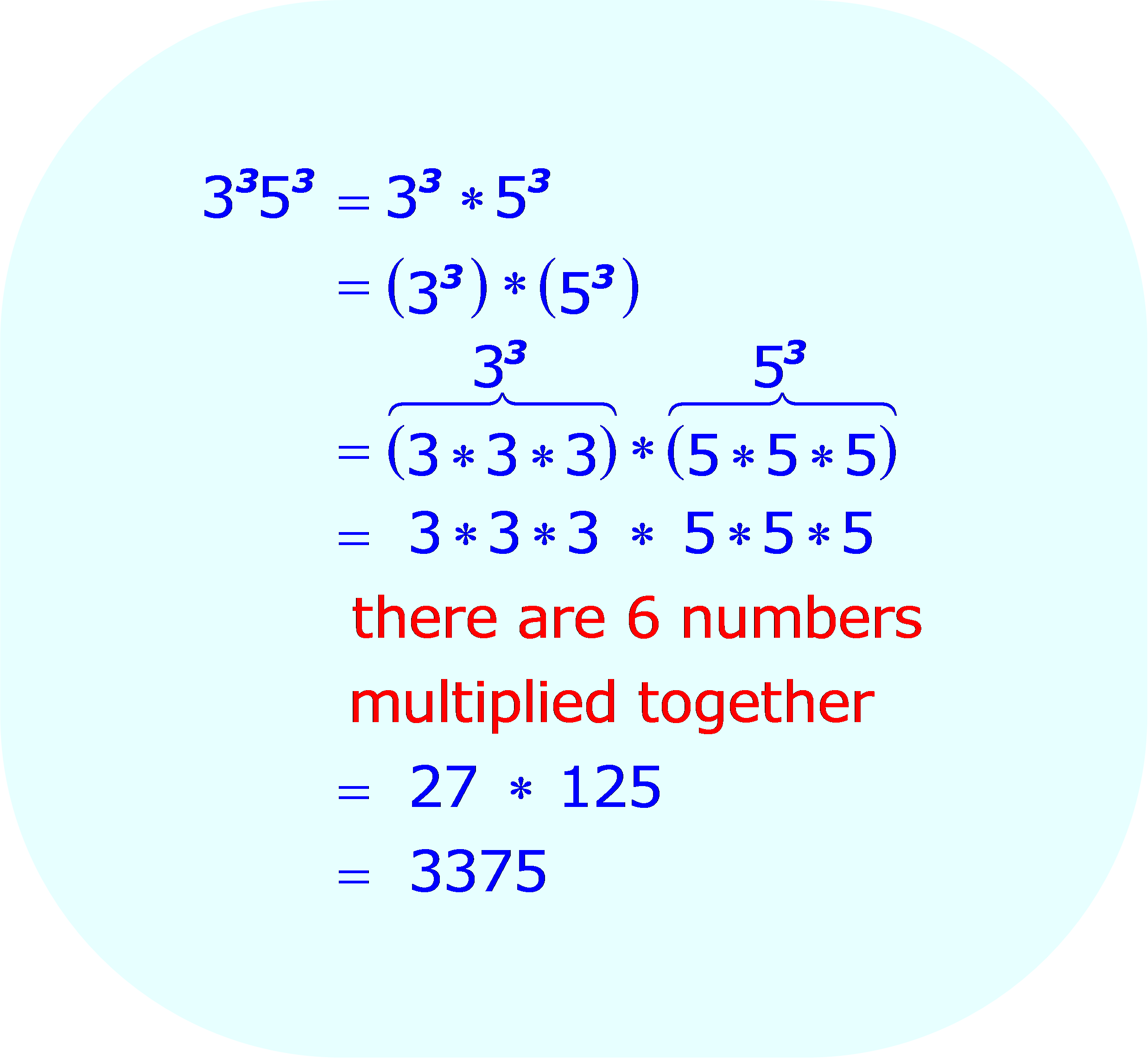 Simplifying Exponents Fractions Calculator
