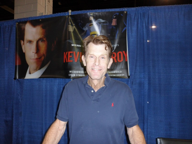 Kevin Conroy at Wizard World Chicago.