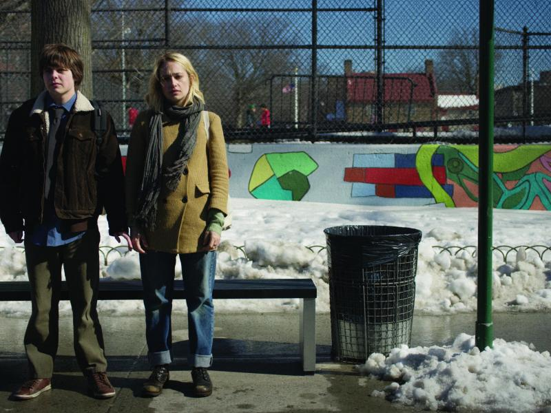 Brendan Meyer as Howie Sheffield and Jemima Kirke as Odessa in ALL THESE SMALL MOMENTS.