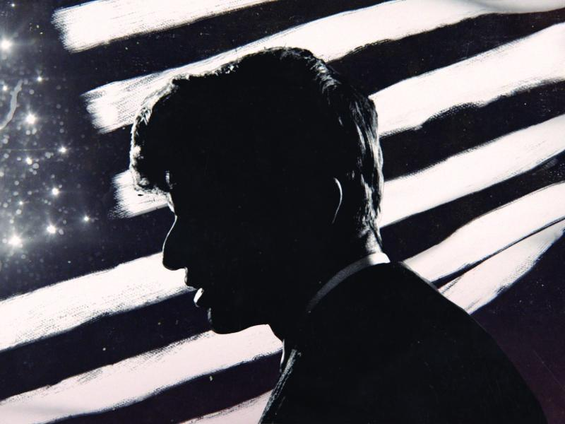 A still from BOBBY KENNEDY FOR PRESIDENT.