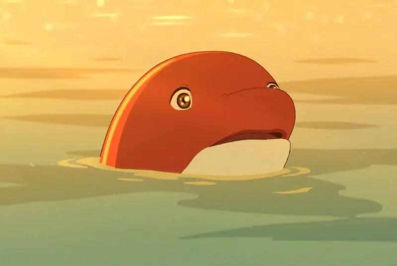 Chun as a Dolphin in Big Fish & Begonia.