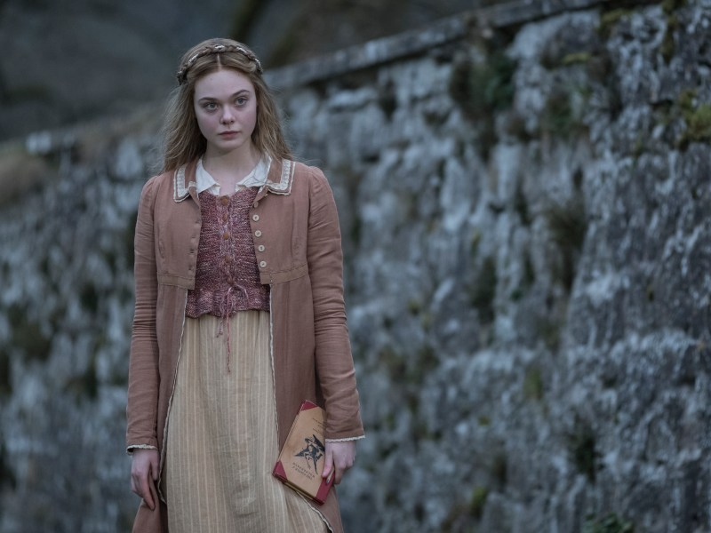 Elle Fanning as Mary Shelley in Haifaa Al-Mansour's MARY SHELLEY.