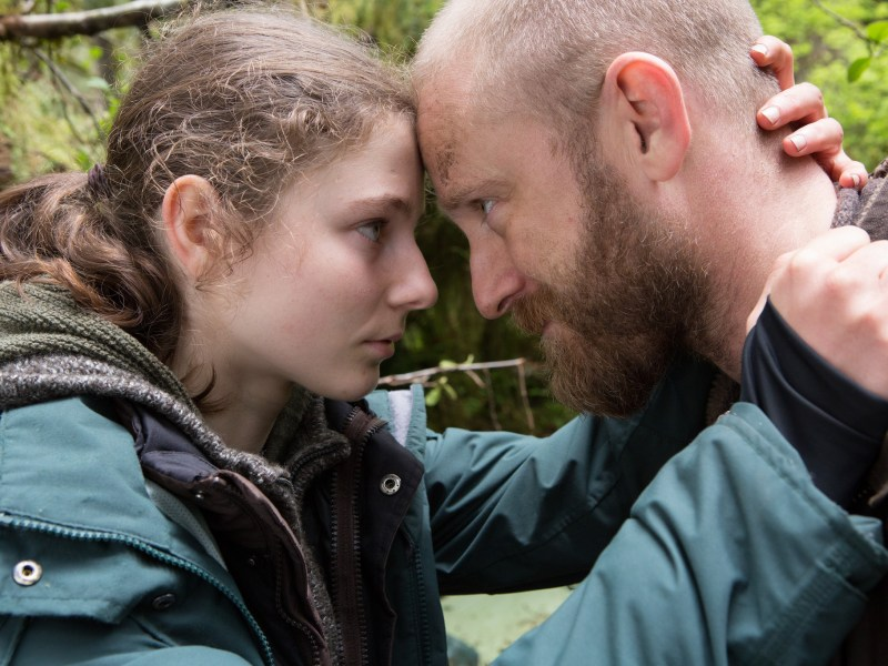 Ben Foster and Thomasin Harcourt McKenzie appear in Leave No Trace, an official selection of the Premieres program at the 2018 Sundance Film Festival.
