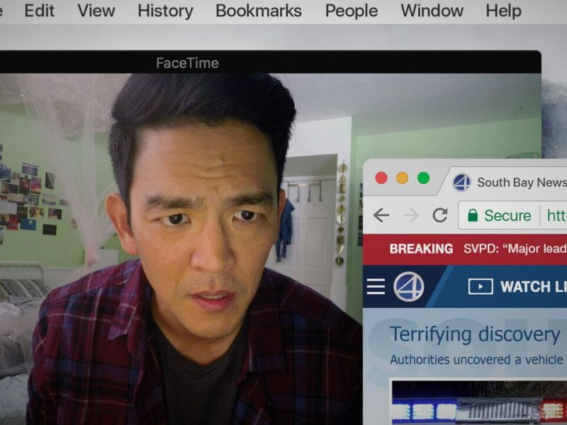 John Cho appears in Searching by Aneesh Chaganty, an official selection of the NEXT program at the 2018 Sundance Film Festival.