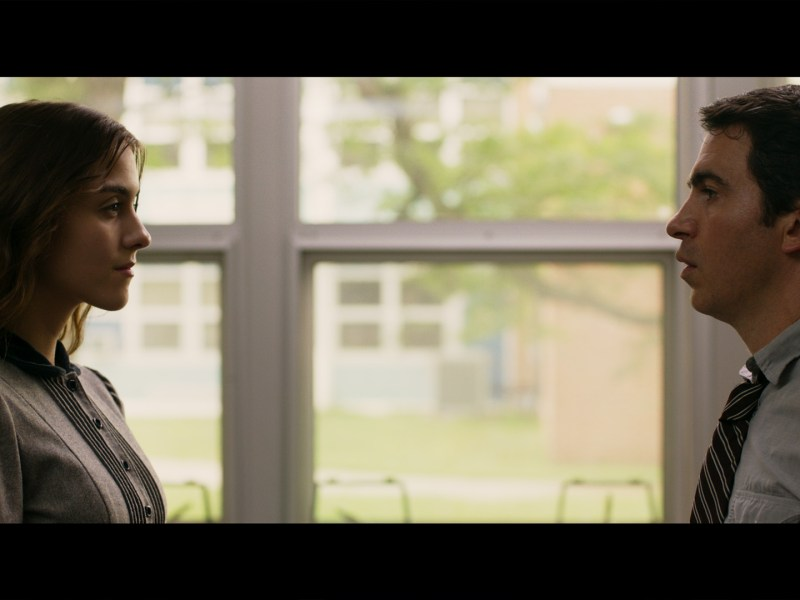 Quinn Shephard and Chris Messina in Blame.