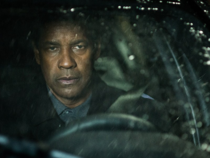 Robert McCall (DENZEL WASHINGTON) drives to an undisclosed location in Cape Cod in Columbia Pictures' Equalizer 2.