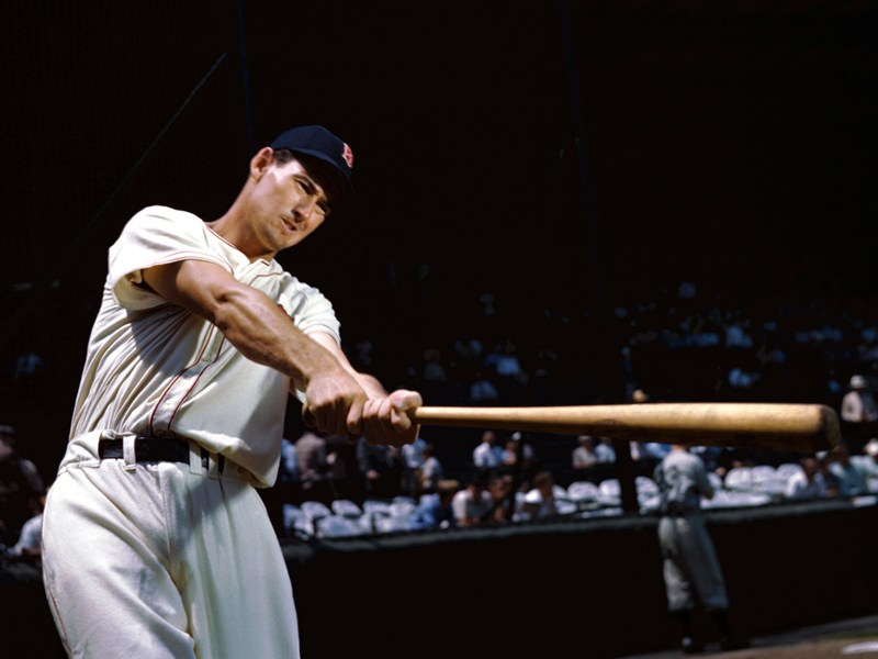 "Ted Williams in Ted Williams: ""The Greatest Hitter Who Ever Lived"""