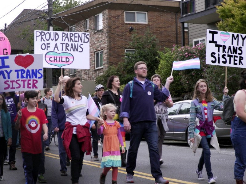 Trans Pride Parade in The Most Dangerous Year