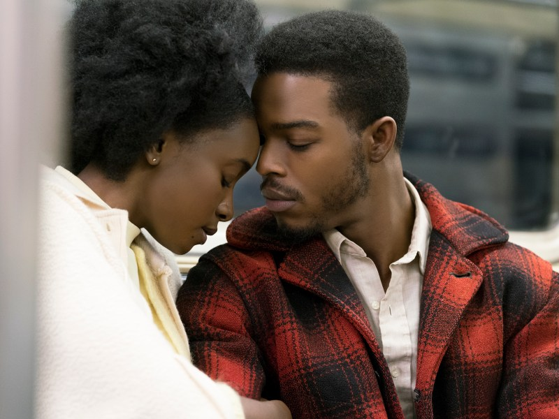 KiKi Layne as Tish and Stephan James as Fonny star in Barry Jenkins' IF BEALE STREET COULD TALK, an Annapurna Pictures release.