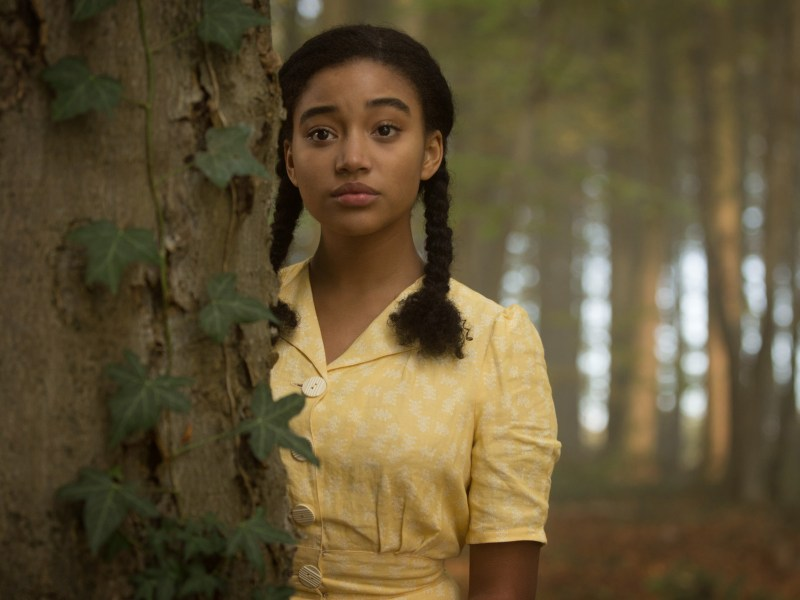 Amandla Stenberg in Where Hands Touch.