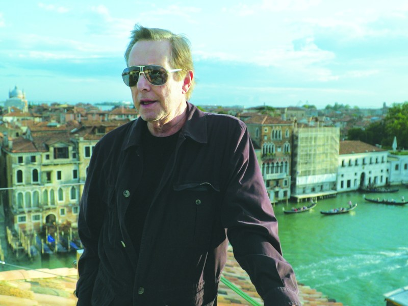 William Friedkin in Venice in Friedkin Uncut.