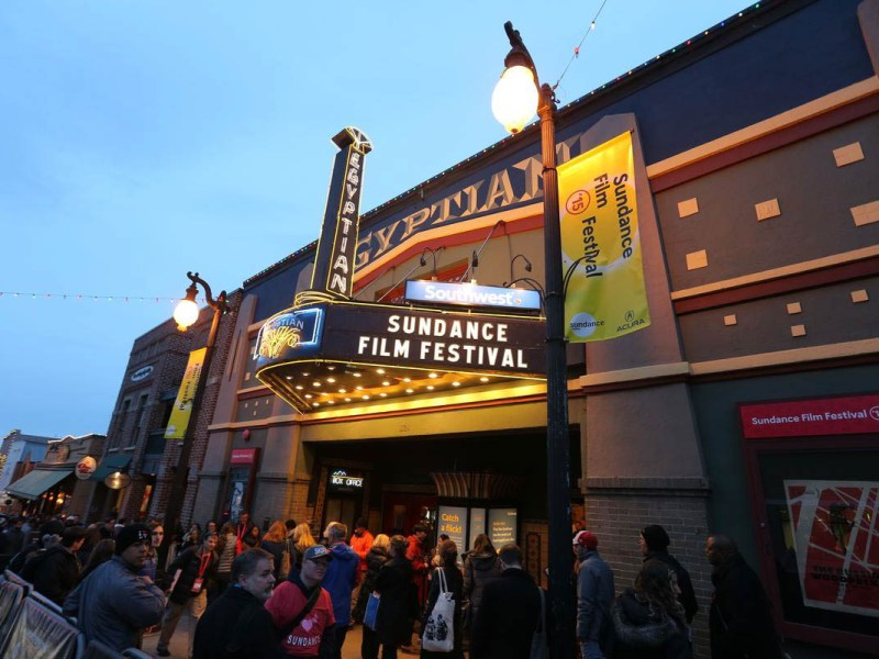 Egyptian Marquee at the 2015 Sundance Film Festival.