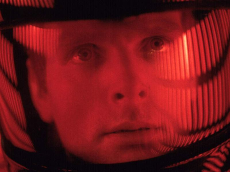 Keir Dullea in 2001: A Space Odyssey.