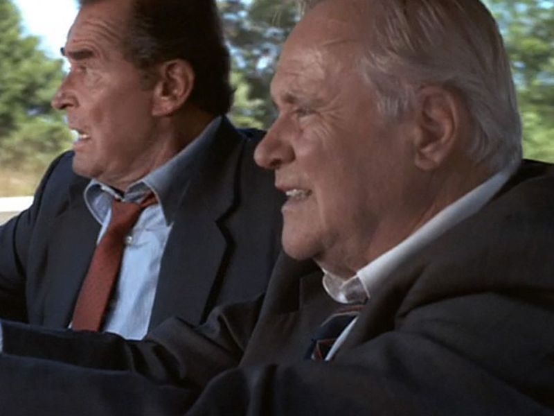 James Garner and Jack Lemmon in My Fellow Americans