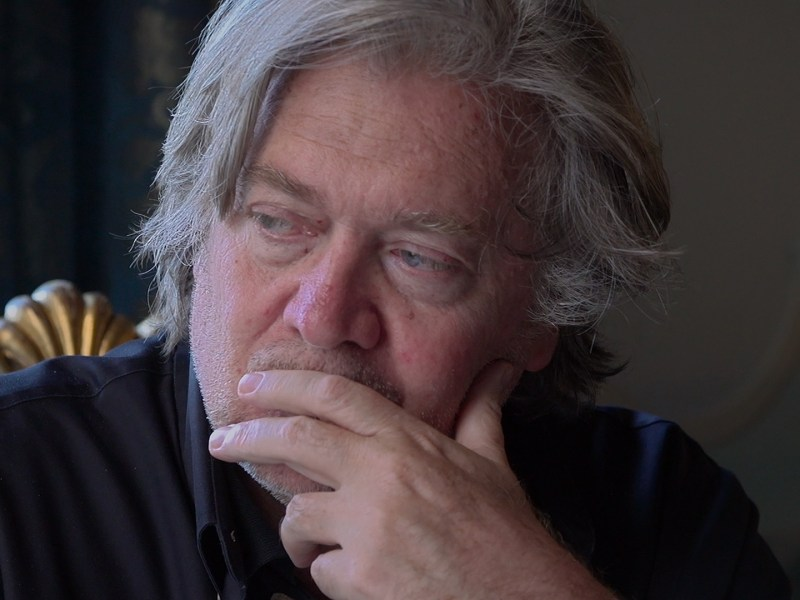 Steve Bannon in The Brink, a Magnolia Pictures release.