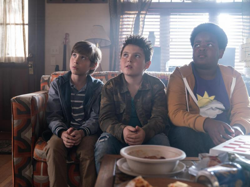 Jacob Tremblay, Brady Noon, and Keith L. Williams in Good Boys