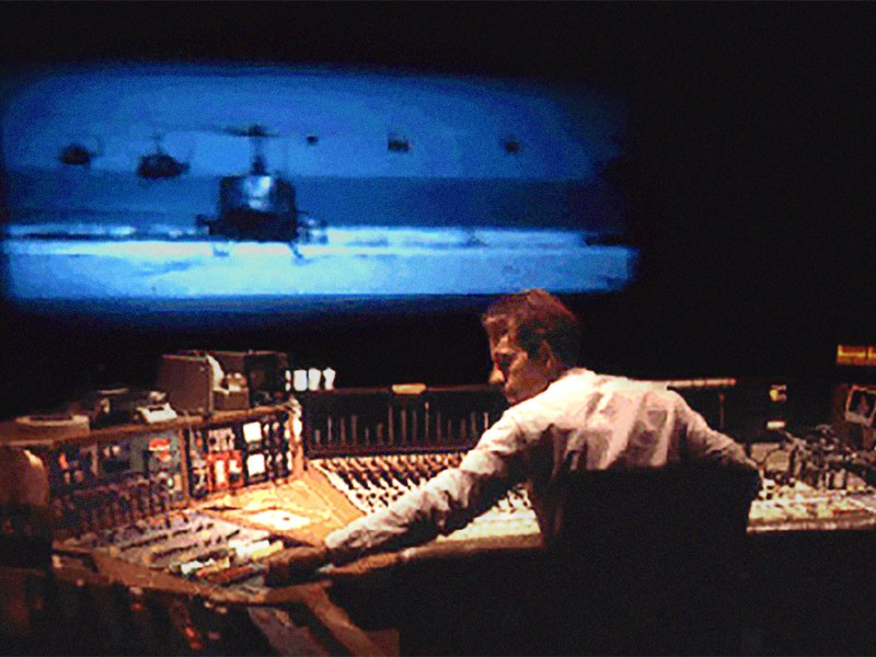 Sound designer Walter Murch as featured in Making Waves.: The Art of Cinematic Sound, directed by Midge Costin.