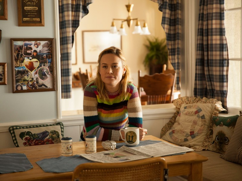 Brie Larson in Unicorn Store.