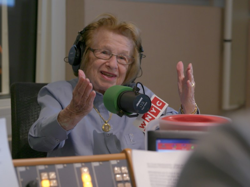 Dr. Ruth Westheimer in ASK DR. RUTH, a Hulu Originals film.