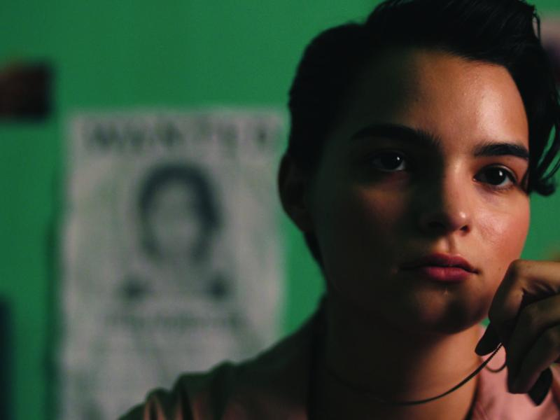 Brianna Hildebrand as Angel in Momster.
