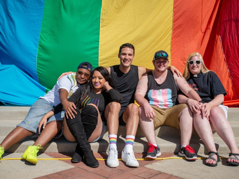During the filming of LGBTQ documentary State of Pride during the Druid City Pride Festival in Tuscaloosa, Alabama, October 14, 2018.