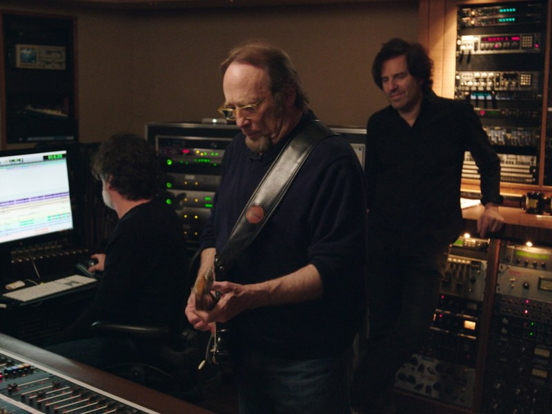 Stephen Stills in the studio in Echo in the Canyon.