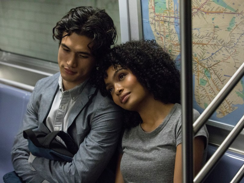 "(L-r) CHARLES MELTON as Daniel Bae and YARA SHAHIDI as Natasha Kingsley in Warner Bros. Pictures' and Metro Goldwyn Mayer Pictures' romantic drama ""THE SUN IS ALSO A STAR,"" a Warner Bros. Pictures release."